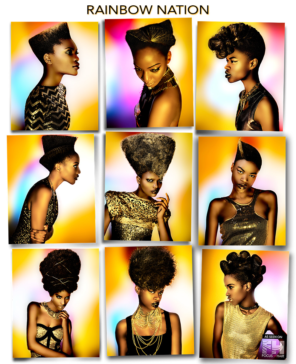 Rainbow Nation Collection by Anne Veck