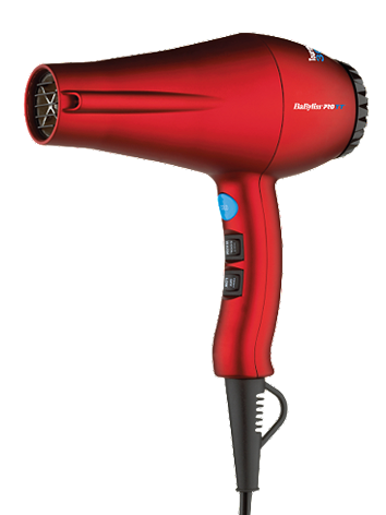 BaByliss Pro Tourmaline Titanium Red Dryer 3000