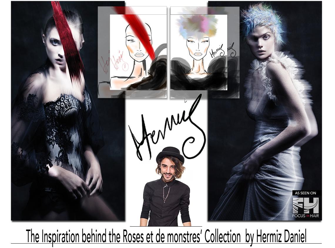 Roses et des monstres by Hermiz Daniel