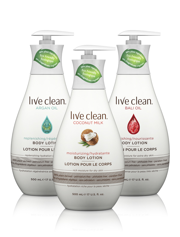 Live Clean Lotions
