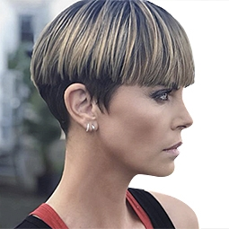 Charlize's New Haircut