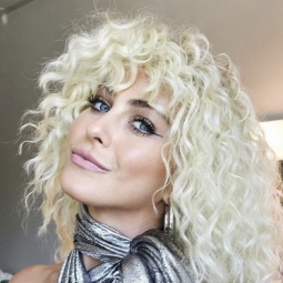 Julianne Hough Curly Hairstyle