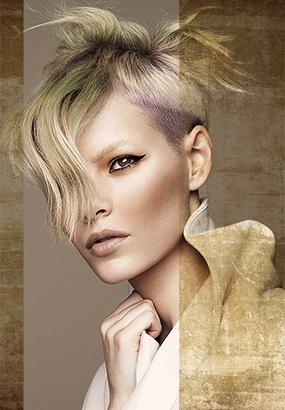 Jagged Terrain by Xiang Hair