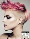 Pink Undercut Pixie