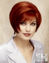 Red Hot Rounded Bob