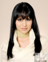 Long hair with wispy bangs fringe hair hairstyle