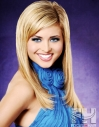 Long layers hair extensions blonde
