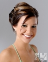 Updo upstyle formal prom bridal