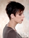 Short hair women's hairstyle