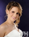 Updo upstyle formal prom bride bridal hair hairstyle