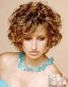 Short curly bob hair hairstyle brown brunette