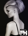 Volumized Undercut Hairstyle for Women