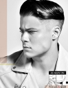 Retro Slicked Men's Hairstyle