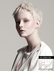 White Blonde Haircolor