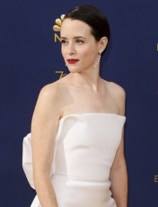 Claire Foy at the 2018 Emmy Awards