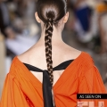 Pretty Plaits at NYFW SS20