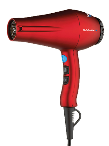 BaByliss Pro Tourmaline Titanium Red Dryer 3000