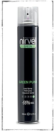 Nirvel Green Punk Hairspray