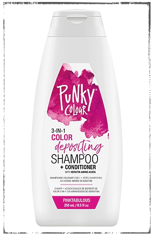 Punky Color 3-in-1 Color Depositing Shampoo & Conditioner