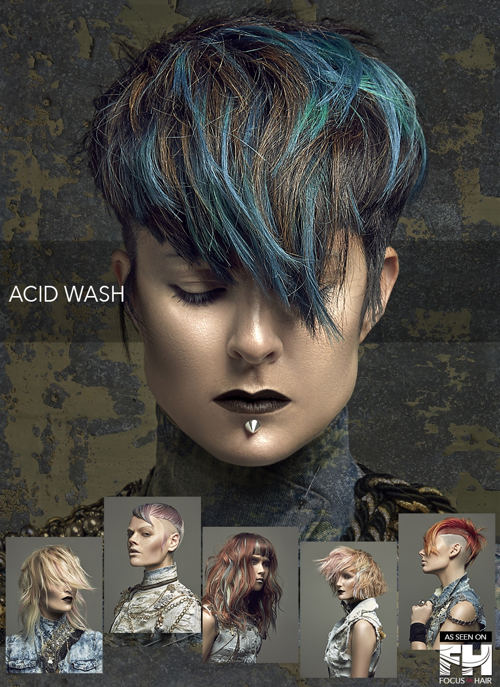Acid Wash Collection by Stephanie Bellairs