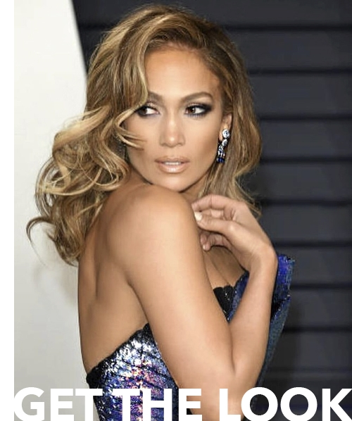 Jennifer Lopez's Full Volume Curls