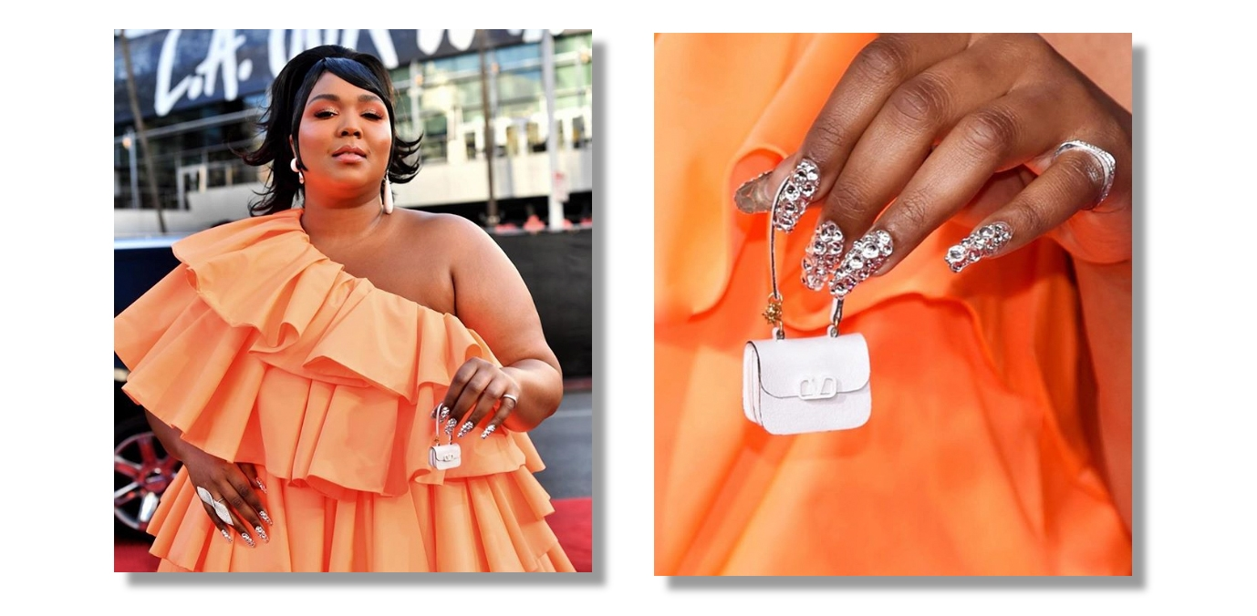 Lizzo Nails at AMA