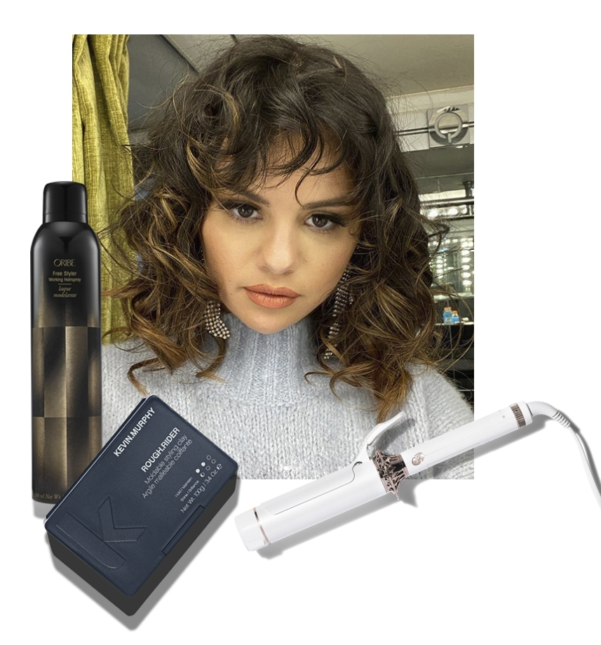 Selena Gomez's New Wavy Hairstyle