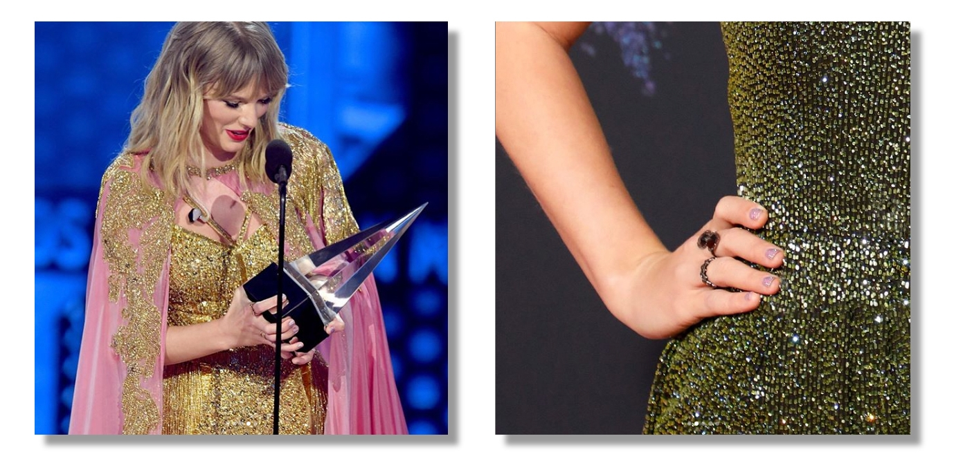 Taylor Swift Nails at AMA