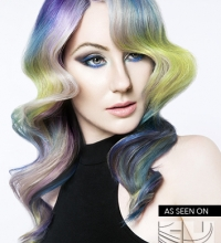 Brush Strokes of Hair Color