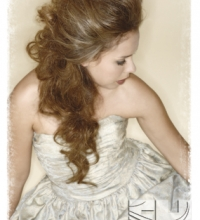 Long Hair partial Updo texture Pomp
