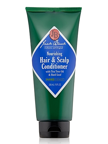 Jack Black Nourishing Hair and Scalp Conditioner with Tea Tree Oil & Basil Leaf