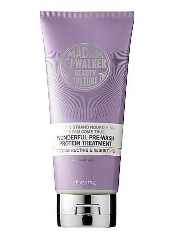 Madam C.J. Walker Beauty Culture Dream Come True Wonderful Pre-Wash Protein Treatment