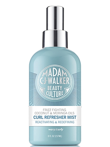 Madam C.J. Walker Beauty Culture Coconut & Moringa Oils Curl Refresher Mist
