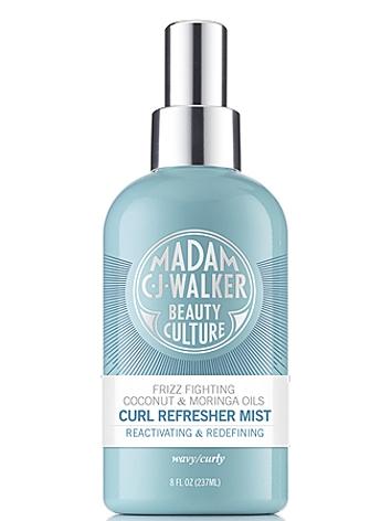 Madam C.J. Walker Beauty Culture Coconut & Moringa Oils Curl Refresher Mist