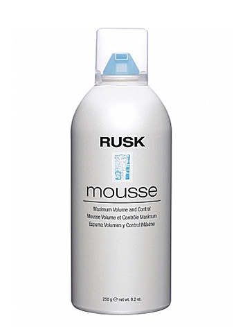 Rusk Designer Collection Maximum Volume and Control Mousse