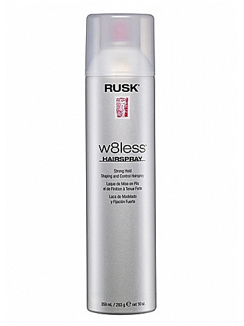 Rusk Designer Collection W8less Strong Hold Shaping and Control Spray