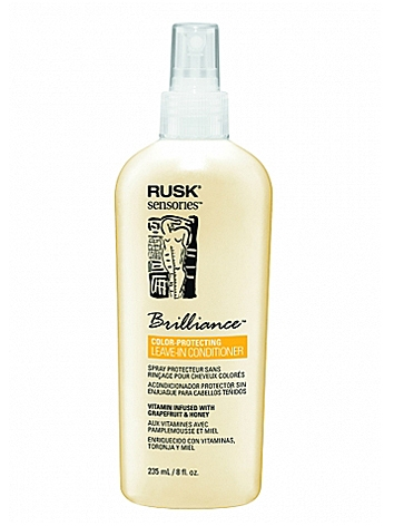 Rusk Sensories Brilliance Grapefruit and Honey Color Protecting Leave-In Cream Conditioner