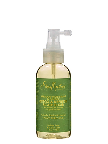 SheaMoisture African Water Mint & Ginger Detox & Refresh Scalp Elixir