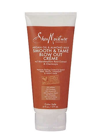 SheaMoisture Argan Oil & Almond Milk Smooth & Tame Blow Out Creme