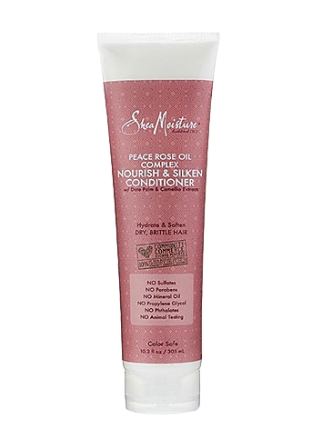 SheaMoisture Peace Rose Oil Complex Nourish & Silken Conditioner
