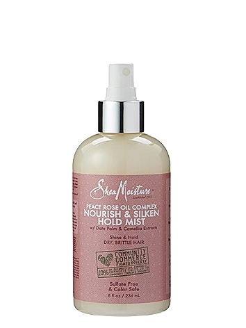 SheaMoisture Peace Rose Oil Complex Nourish & Silken Hold Mist