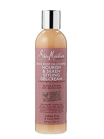SheaMoisture Peace Rose Oil Complex Nourishing & Silken Styling Gel-Cream